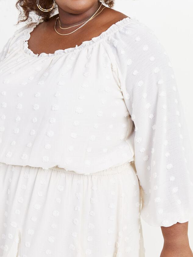 Define Dress - Ivory Detail 4 - ARULA formerly A'Beautiful Soul