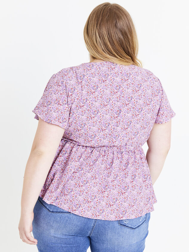 Mackenzie Floral Top Detail 3 - ARULA formerly A'Beautiful Soul