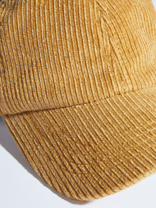 Journee Baseball Hat Detail 2 - ARULA