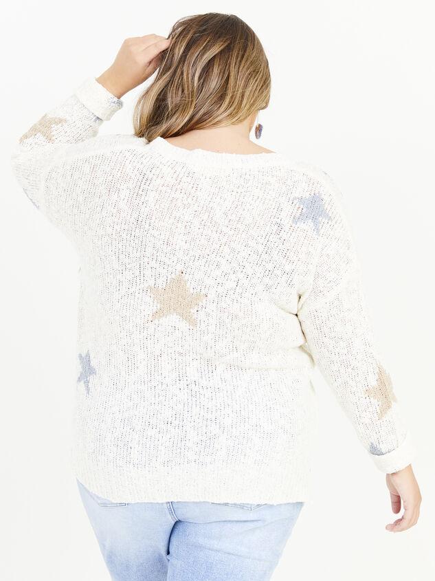 Seeing Stars Sweater Detail 3 - ARULA