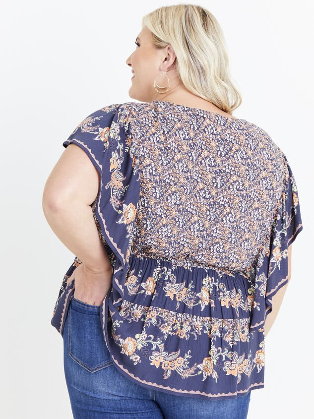 Faren Floral Top Detail 3 - ARULA formerly A'Beautiful Soul