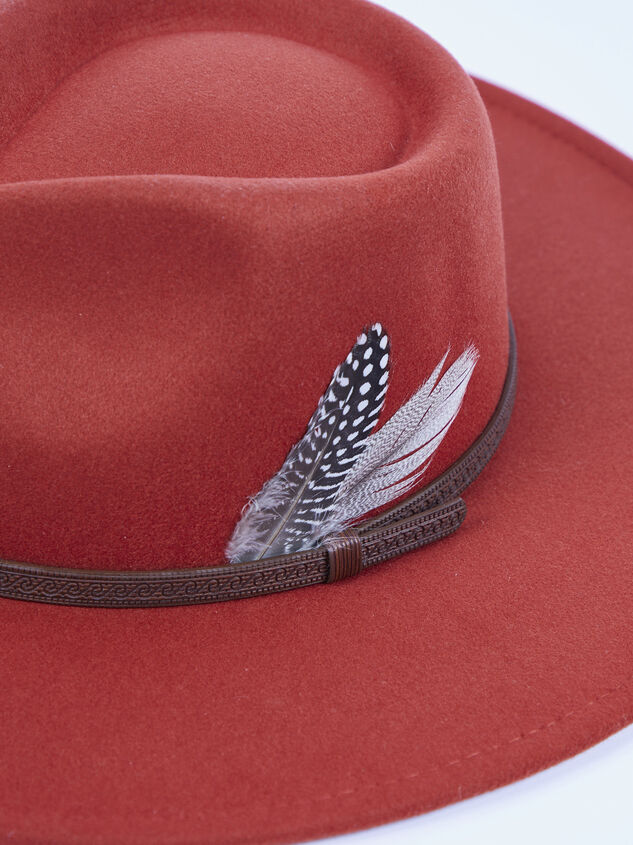 Chayse Feather Hat Detail 4 - ARULA formerly A'Beautiful Soul