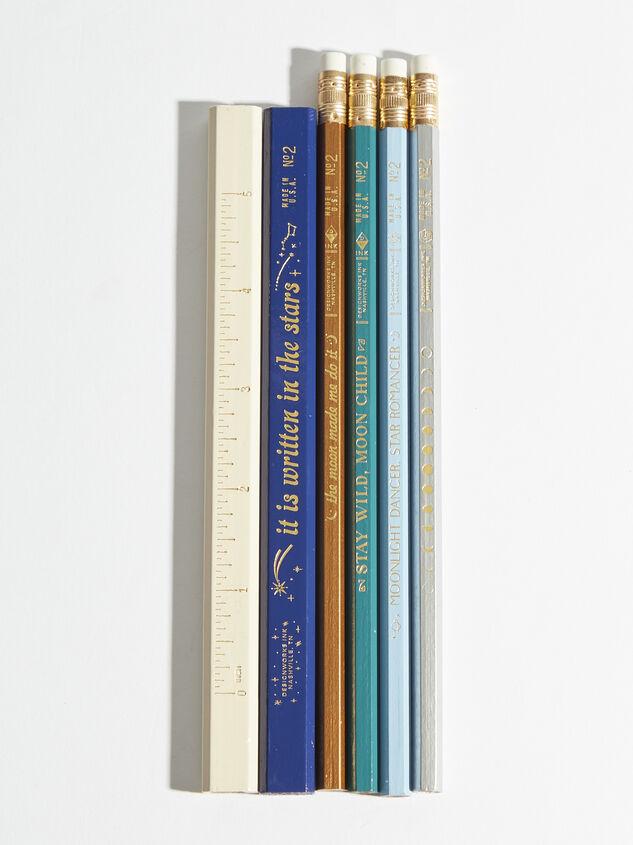 Celestial Pencil Set Detail 2 - ARULA formerly A'Beautiful Soul