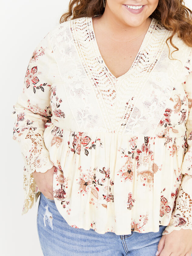 Magdalen Printed Top Detail 4 - ARULA formerly A'Beautiful Soul