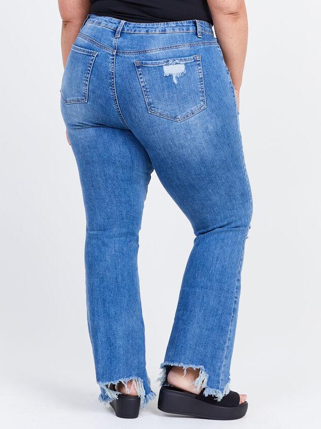 Cory Incrediflex Bootcut Jeans Detail 4 - ARULA formerly A'Beautiful Soul