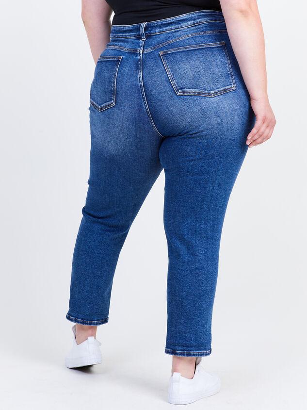 Destructed Girlfriend Jeans Detail 4 - ARULA formerly A'Beautiful Soul