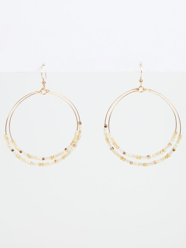 Paola Earrings - Natural Detail 1 - ARULA formerly A'Beautiful Soul