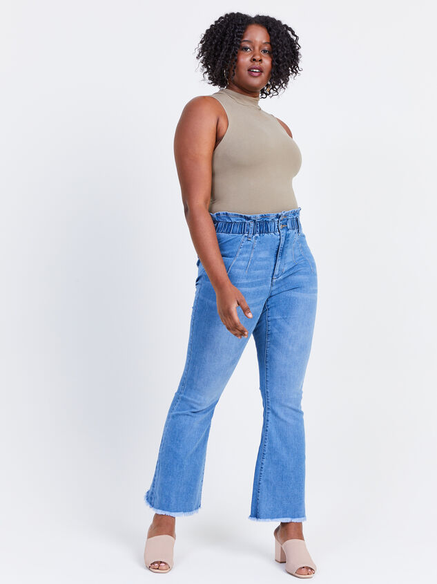 """Ashling 31.5"""" Inseam Jeans Detail 5 - ARULA formerly A'Beautiful Soul"""