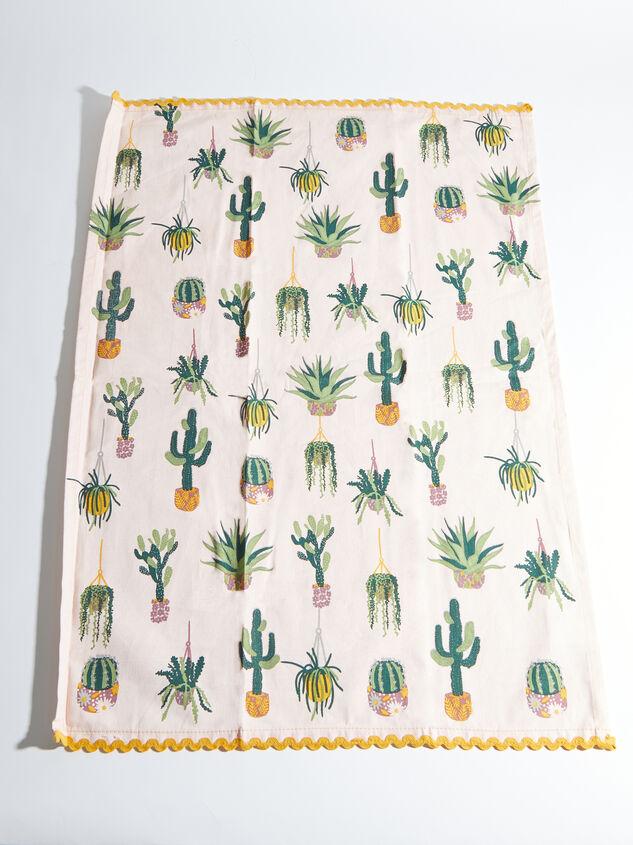 Succulent Tea Towel Detail 2 - ARULA formerly A'Beautiful Soul
