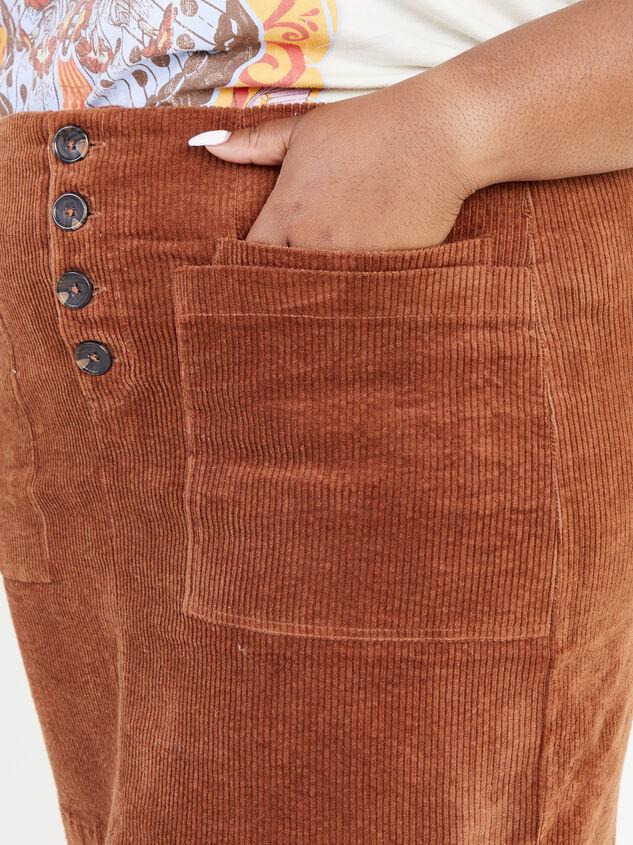 Janna Corduroy Skirt Detail 5 - ARULA