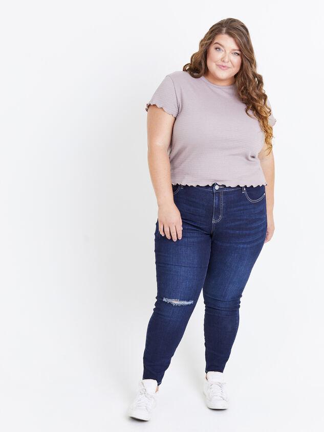 "Incrediflex 29"" Dark Skinny Jeans - ARULA"