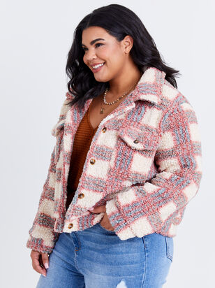 Rayne Plaid Jacket - ARULA