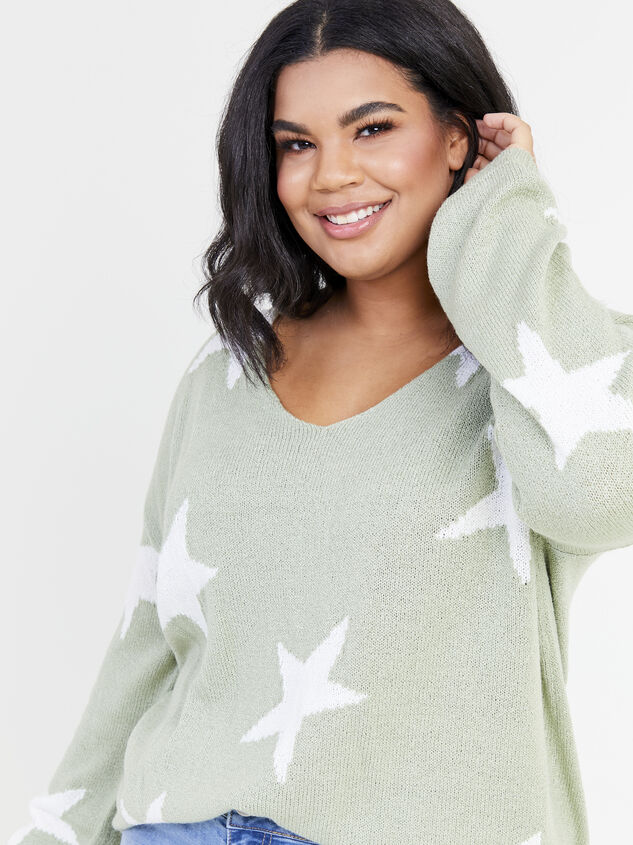 Starry Night Sweater Detail 4 - ARULA formerly A'Beautiful Soul