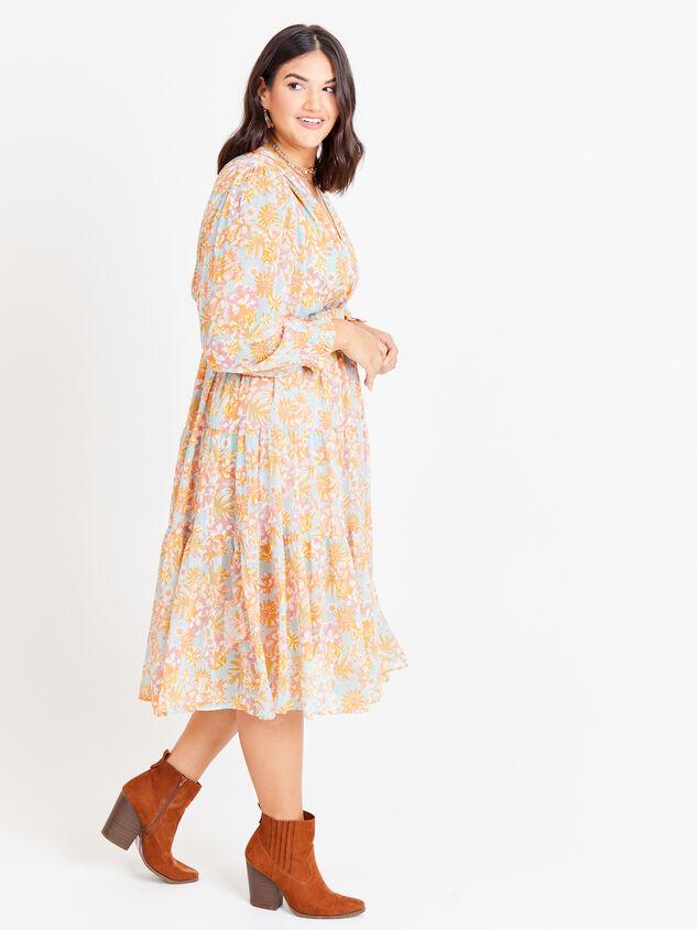 Jolene Maxi Dress Detail 2 - ARULA formerly A'Beautiful Soul